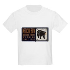Medicine Bow Black Bear Badge T-Shirt