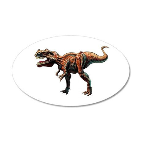 T-Rex Large.jpg 20x12 Oval Wall Decal