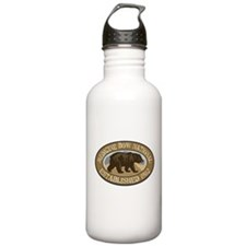Medicine Bow Brown Bear Badge Water Bottle