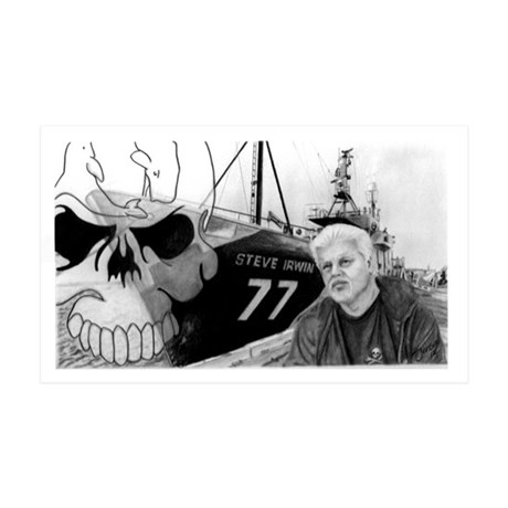 Sea Shepherd 35x21 Wall Decal