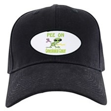 Pee on Gynecological Cancer Baseball Hat
