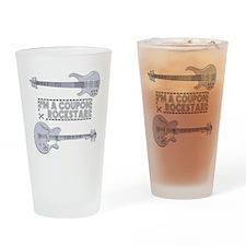 COUPON ROCKSTAR! Drinking Glass