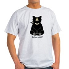 Sloth Bear with Cub T-Shirt
