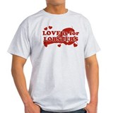 love-is-for-lobsters.png T-Shirt
