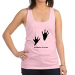 Alligator Tracks Racerback Tank Top