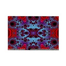Fractal FS~12 Rectangle Magnet (10 pack)