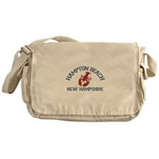 Hampton Beach NH - Lobster Design. Messenger Bag