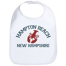 Hampton Beach NH - Lobster Design. Bib