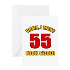 55 Looks Good! Greeting Card
