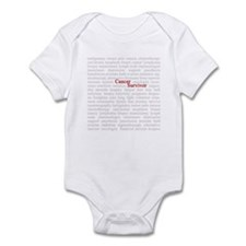 Cancer Survivor Infant Bodysuit