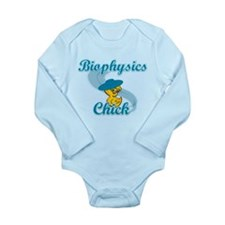 Biophysics Chick #3 Long Sleeve Infant Bodysuit