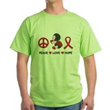 Ladybug Peace Love Hope T-Shirt