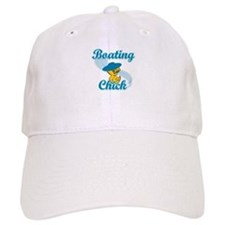 Boating Chick #3 Baseball Cap