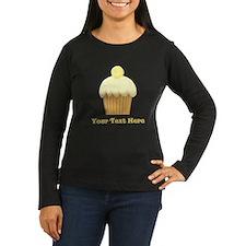 Vanilla Cupcake and Text. T-Shirt
