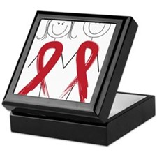 Aids Ribbon Body Keepsake Box