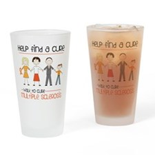 Walk To Cure Drinking Glass