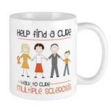 Walk To Cure Mug
