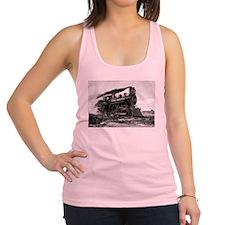 Steam Locomotive Racerback Tank Top