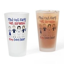 Get Screened Drinking Glass
