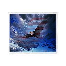 American Glory Throw Blanket