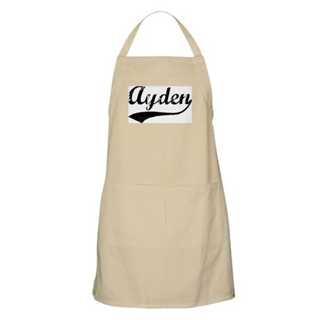 Vintage: Ayden BBQ Apron