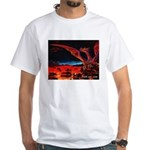 TWO Dragon White T (2-sided)