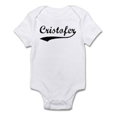 Vintage: Cristofer Infant Bodysuit