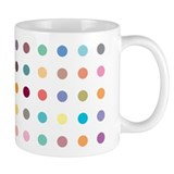 Spots design on Small Mug