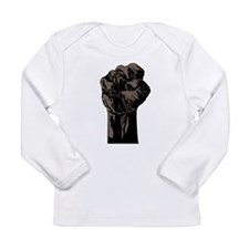 The Black Fist Long Sleeve T-Shirt