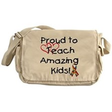 Cute Teacher Messenger Bag