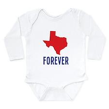 Texas Forever Long Sleeve Infant Bodysuit
