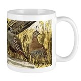 Quail in the grass Mug