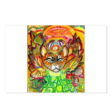 Cat Camouflage Postcards (Package of 8)