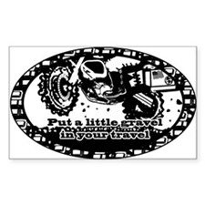 Adventure Bike Oval Decal