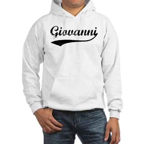 Vintage: Giovanni Hooded Sweatshirt