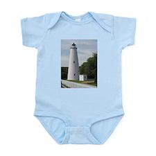 Ocracoke, North Carolina Lighthouse Infant Bodysui