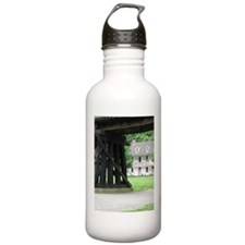 Harpers Ferry WV Bookstore & Railroad Water Bottle