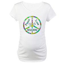 Peace Love Reading Shirt