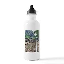 Harpers Ferry WV Railroad Tracks Water Bottle