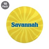 "Savannah Sunburst 3.5"" Button (10 pack)"