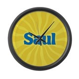 Saul Sunburst Large Wall Clock