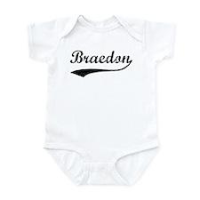 Vintage: Braedon Infant Bodysuit