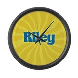 Riley Sunburst Large Wall Clock