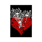 broken-heart-skulls_c.png Rectangle Magnet