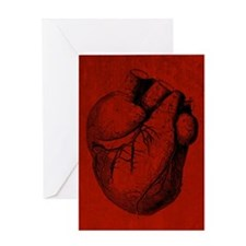 Human Heart Greeting Card