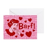 valentine-barf_13-5x18.png Greeting Cards (Pk of 1