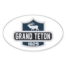 Grand Teton Nature Badge Decal