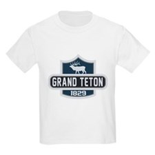 Grand Teton Nature Badge T-Shirt