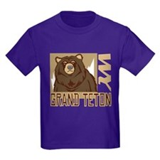 Grand Teton Grumpy Grizzly T