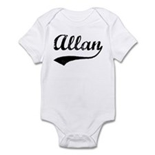 Vintage: Allan Infant Bodysuit